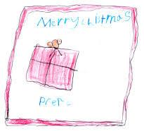 children u0027s handmade christmas cards 2009 planning with kids