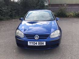 2004 blue volkswagen golf 1 6 fsi se 5 dr manual petrol great