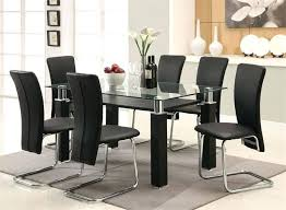 glass dining room table set black dining table set medium size of kitchen black dining room