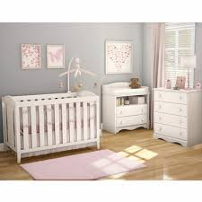 White Crib And Changing Table Southshore 3 Nursery Set Crib Changing Table And