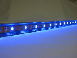multi color led light bar water feature spillway blade with multi colour led light bar