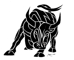 bull tattoo picures images