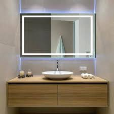 Heated Bathroom Mirror With Light Heated Bathroom Mirror Light Shaver Socket Mirrors With Lights It