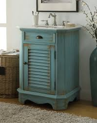 24 inch bathroom vanity cottage coastal beach style distressed