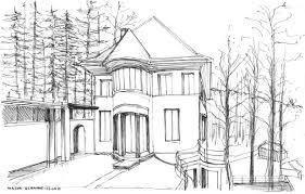 drawing the architecture of le corbusier poppy bevan design studio