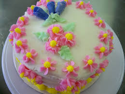 easy birthday cake flowers image inspiration of cake and