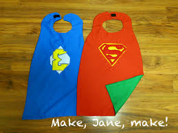 make jane make reversible superhero cape how to