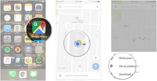 Launch Maps How To Save Your Parking Spot With Google Maps For Iphone And Ipad