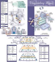 Philadelphia International Airport Map Orlando International Airport Map