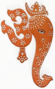 amazon com indian art wall decor hanging painting of lord ganesha