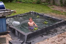 my 5 year old and i replaced our 100 gallon backyard pond with a