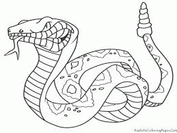 coloring page snake high quality coloring pages coloring home