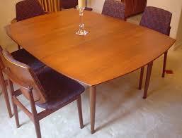 danish modern kitchen danish modern dining table finish