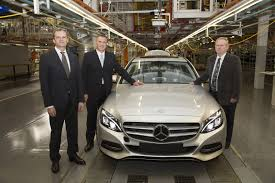 mercedes benz ceo south african mercedes benz c class production begins gtspirit