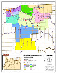 Colorado County Map by Umatilla Co Planning Gis