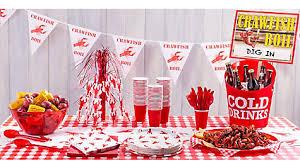 crawfish decorations crawfish centerpiece idea cajun crawfish boil ideas mardi gras