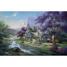 summer day a limited edition the kinkade