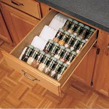 kitchen drawer organizer spice tray insert rev a shelf st50
