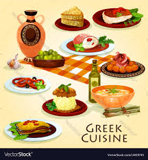 cuisine traditional dinner icon vector image