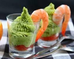 cuisine de a a z verrine recette verrines d avocat crevettes et plemousse