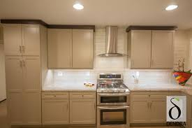 Modren Painted Shaker Cabinet Doors In Cabinets Cherry Kitchen - Kitchen cabinet door painting