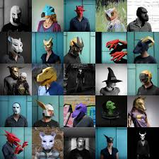 design your own halloween mask online wintercroft low poly masks