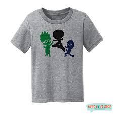 pj heroes nighttime villains masks shirt