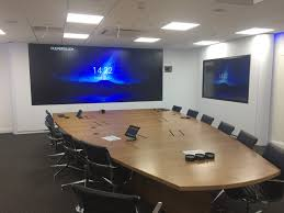 4x3 wrap around video display media wall quadra av furniture