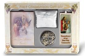communion gift blessed 6 deluxe communion gift set