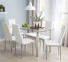 Fantastic Furniture Dining Table Zoe 7 Dining Set With Zara Chairs Dining Room Living