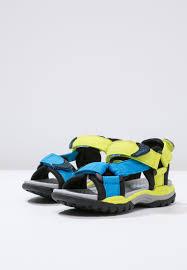 Lime Lights Shoes Geox Borealis Walking Sandals Lime Light Blue Kids Shoes Hiking