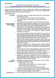 system analyst resume best secrets about creating effective business systems analyst resume