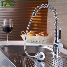 aliexpress com buy flg kitchen faucet pull out all around rotate