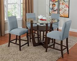 the alcove counter height collection aqua value city furniture