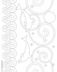 don u0027t eat the paste another dolphin coloring page