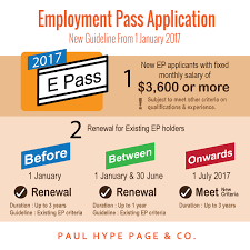 employment pass in singapore