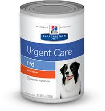 hill u0027s prescription diet a d urgent care with chicken canned dog