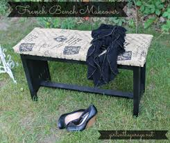 french bench makeover one artsy mama