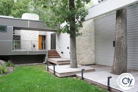 modern exterior redesign bluestem construction