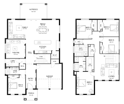 House Designs And Floor Plans Nsw New Home Builders Evoque 40 Double Storey Home Designs