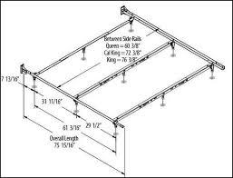 bedroom cal king bed frame dimensions ideas wonderful california