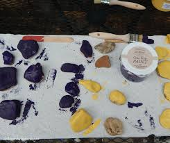 get creative with painted rocks in the garden little sprouts