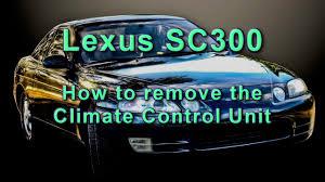 lexus gs430 review by jeremy clarkson how to remove climate control unit lexus sc300 youtube