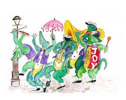 mardi gras alligator mardi gras alligator etsy