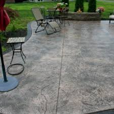 Backyard Flooring Options - outdoor patio flooring options stamped concrete designs also ideas