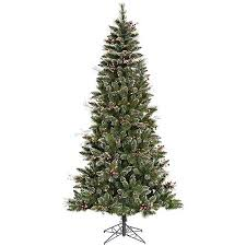 pre lit 6 x 36 snow tip berry tree artificial tree