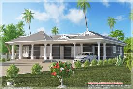 stylish and peaceful 9 one floor house plans kerala single level 3