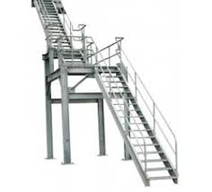 Industrial Stairs Design Calico Ladders Carbis Mill Steel Stair Bar Grate Tread Nosing