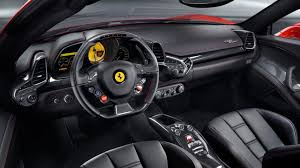 458 manual transmission mechanically identical in most respects to the italia the spider
