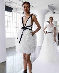 wedding dresses marchesa 2018 cocktail length wedding dress with ruffled